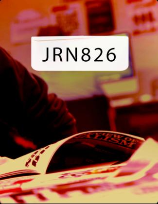 JRN 826 Magazine Masthead II- Ryerson Review of Journalism